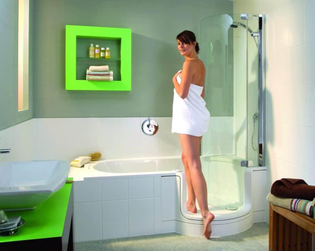 Duschbadewanne  APUNCTO-Bauen-Bad