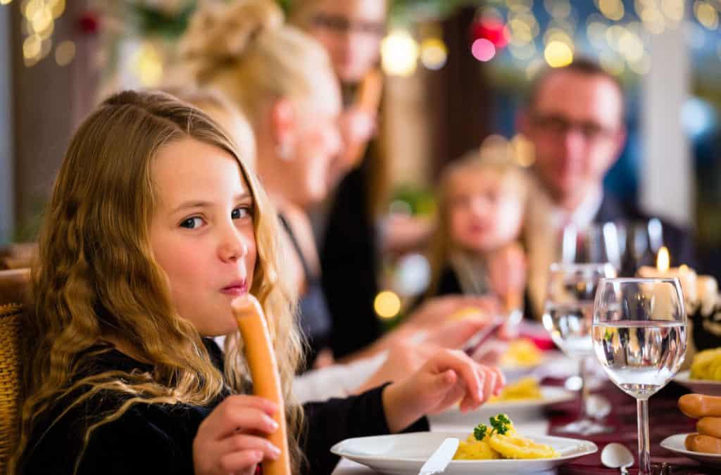 Weihnachtsessen: Braten oder Kartoffelsalat?