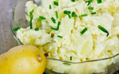 Rezeptidee: Kartoffelsalat zu Weihnachten