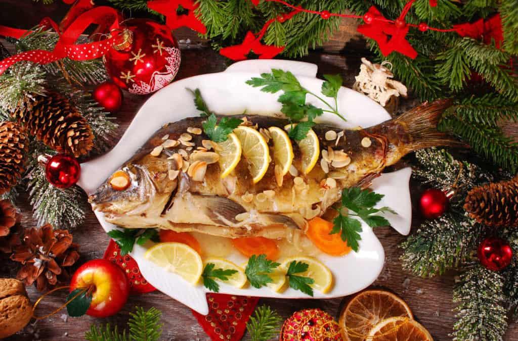 Rezeptidee: Weihnachtskarpfen für ein festliches Essen