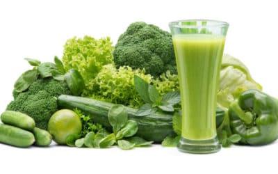 Grüne Smoothies aus eigenem Anbau