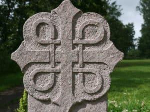 Das Olavszeichen aus Stein