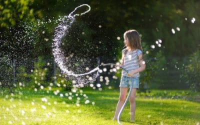 Gartenwissen: Die richtige Rasenpflege im Sommer