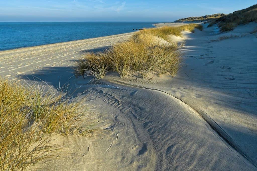 Dünenlandschaft am Ellenbogen auf Sylt – Spontanurlaub