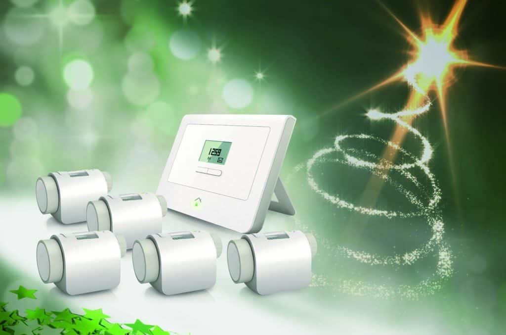 SmartHome System mit Thermostaten (edle Geschenke)