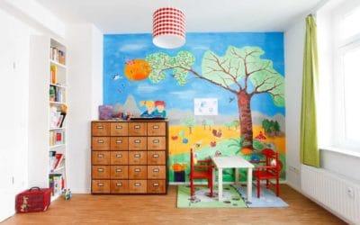 Langweilige Wände adé! 9 kreative Ideen für Ihre Wandgestaltung