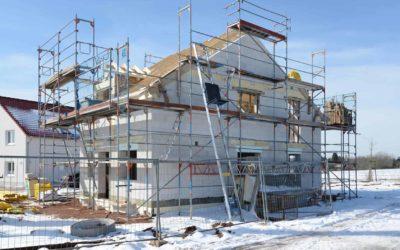 Bauen im Winter: Das sollten Sie beachten