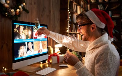 Virtuelle Weihnachtsfeier – tolle Ideen für Unternehmen