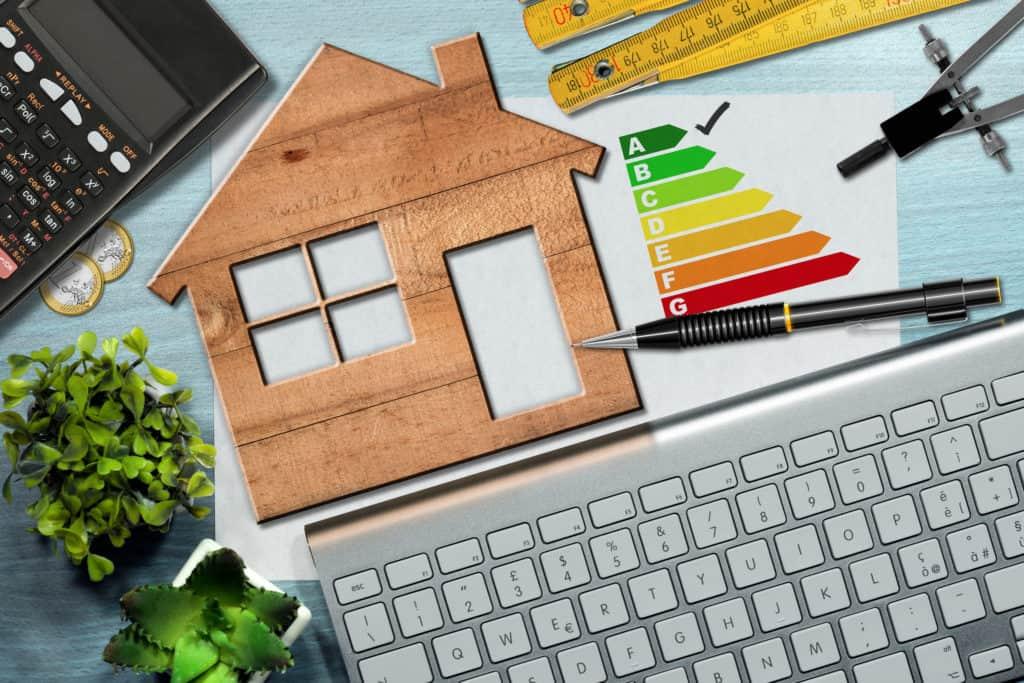 Neues Gebäudeenergiegesetz: Abbildung eines Holzhauses