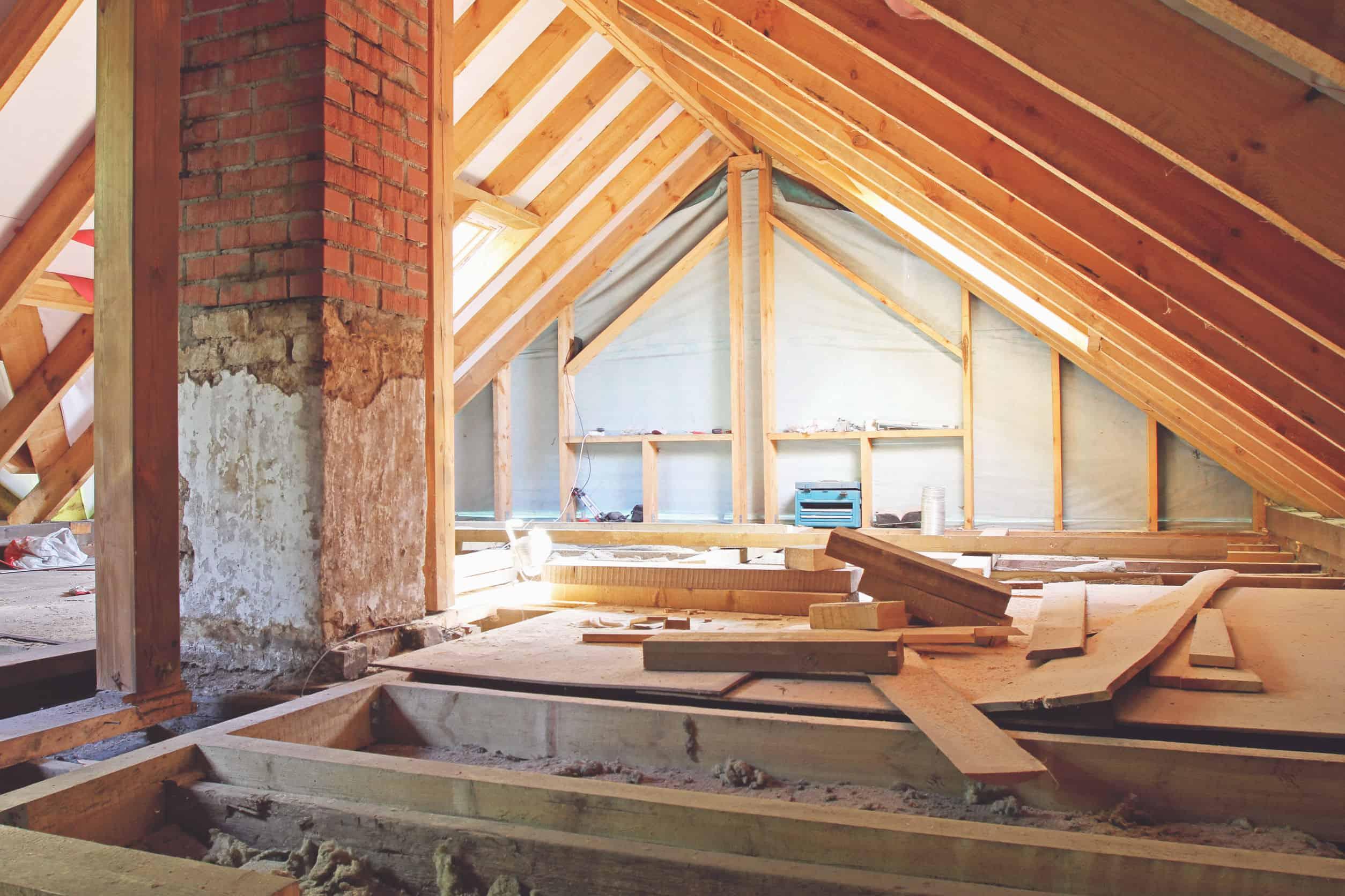 Neues Gebäudeenergiegesetz: energetische Sanierung im Dachgeschoss